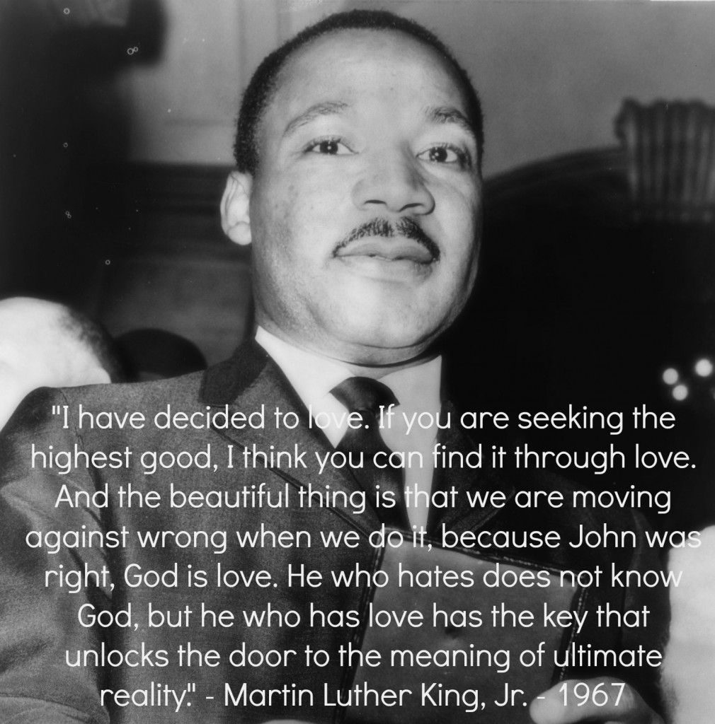 Rembering the Words of Martin Luther King Jr.