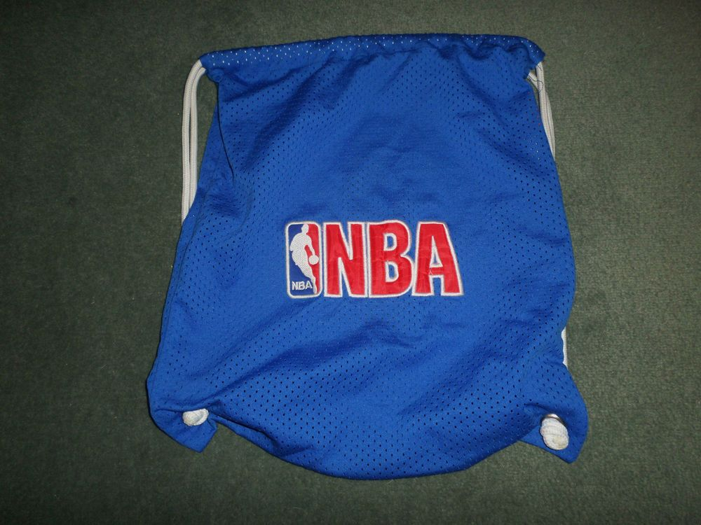 Men S Blue Red Amp White Nba Embroidered Logo Small