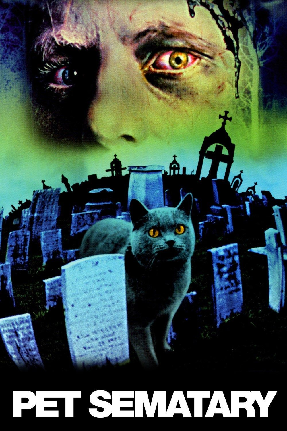 """Pet Sematary (1989) """"Sometimes dead is better."""" Another"""