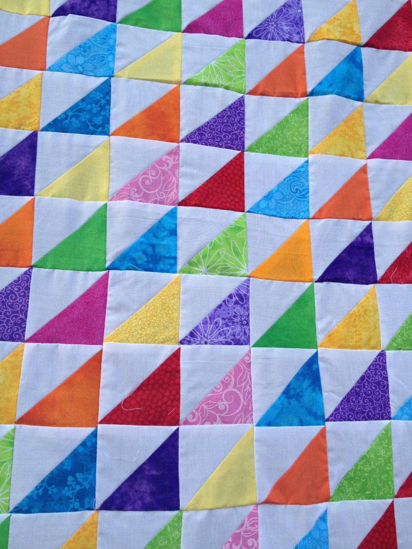 Triangles Quilt Summer Blend