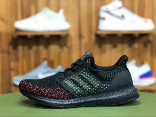 6bf7d560286 Mens Adidas Ultra Boost Clima Solar Red Black Green Red AQ0482 Running Shoes