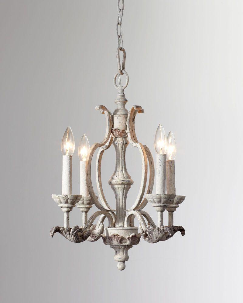 19 horchow french restoration antique white candle chandelier 379 19 horchow french restoration antique white candle chandelier 379 new mozeypictures Gallery