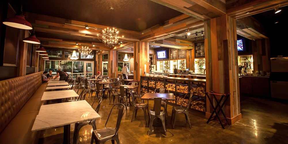 Pizza Domenica Restaurant By Chefs John Besh And Alon Shaya In Uptown New Orleans LA