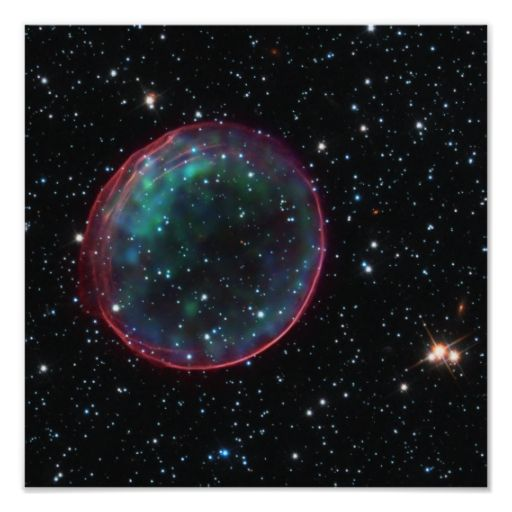 Space Bubble Posters