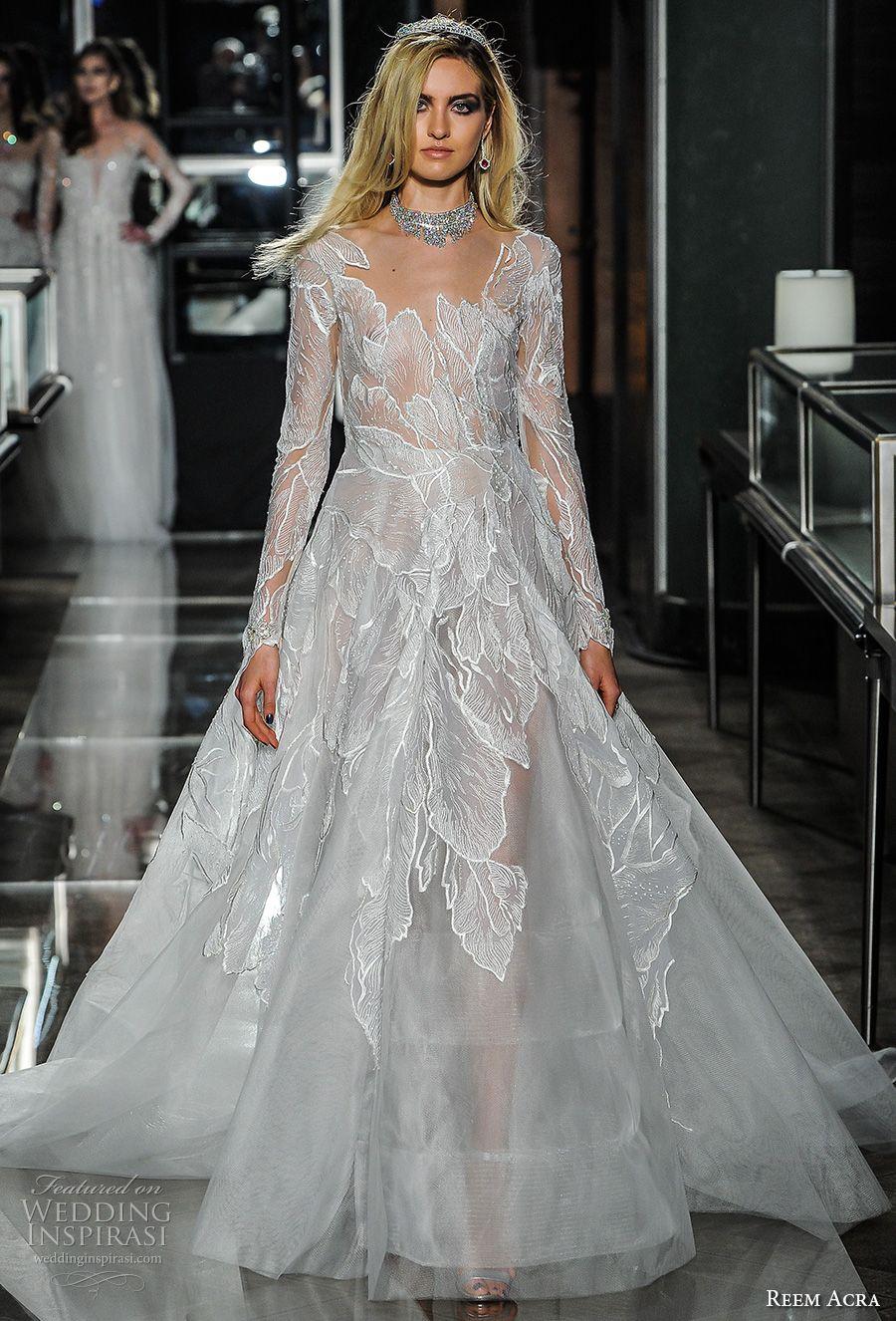 Reem acra spring wedding dresses u new york bridal fashion week