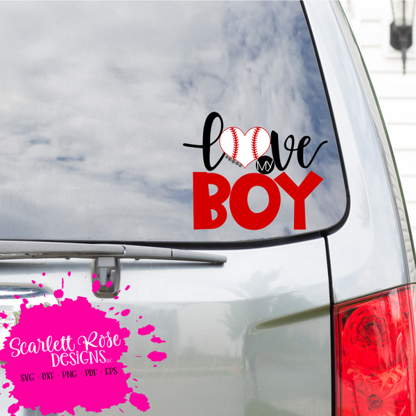 Download Love my Boy - Baseball SVG #svg #silhouettecameo #cricut # ...