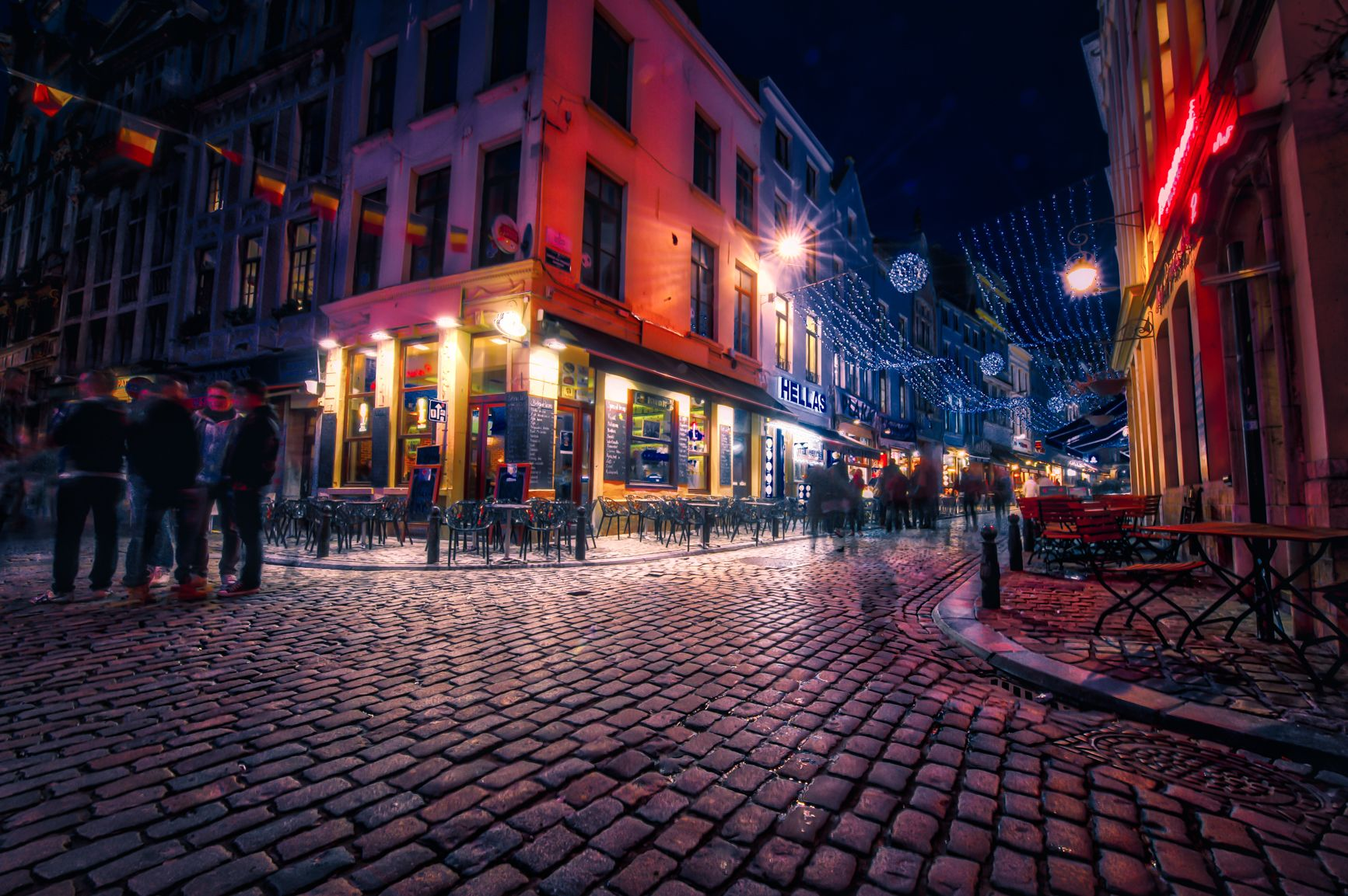 Nightfall in Brussels — Nomadic Pursuits