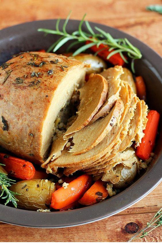 How To Cook A Tofurky Roast #thanksgivingrecipes