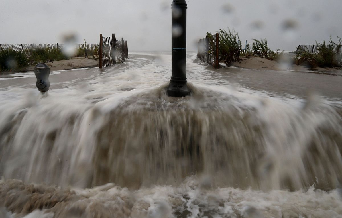 50 Million People Threatened By Rare Superstorm Hurricane Sandy Cape May Coast
