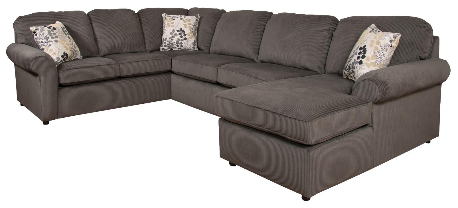 Malibu 5 6 Seat Right Side Chaise Sectional By England England
