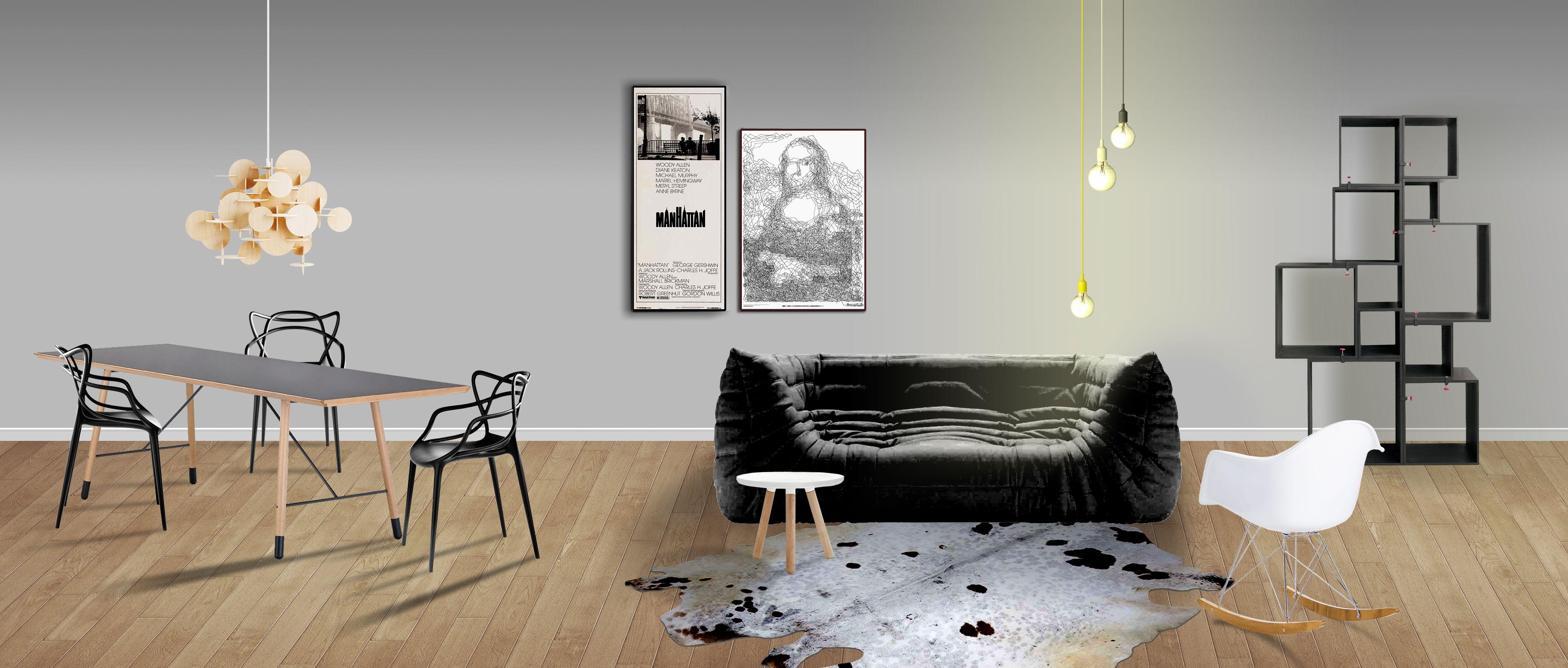 Low budjet divano togo di michel ducaroy per ligne roset poltroncina rar rocking chair di - Divano togo ligne roset ...