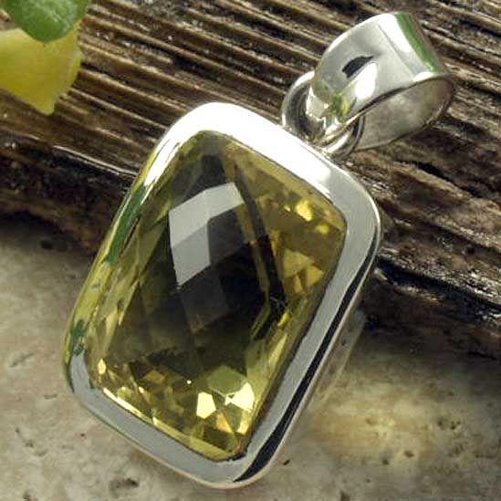 Lemon quartz pendant designer 925 silver pendant pinterest lemon quartz pendant mozeypictures Images