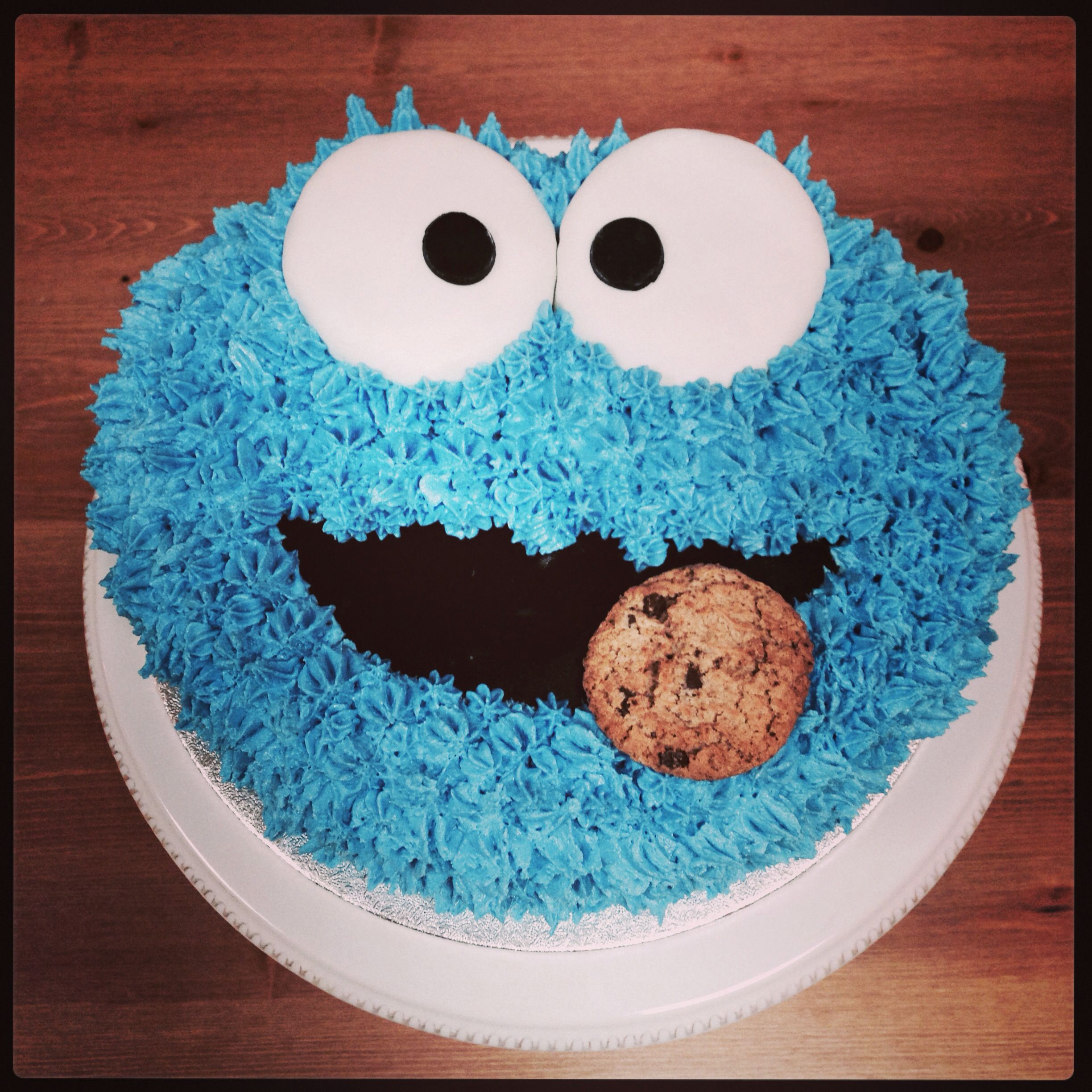 Oh Cookie Monster Birthday cake Projects to Try Pinterest