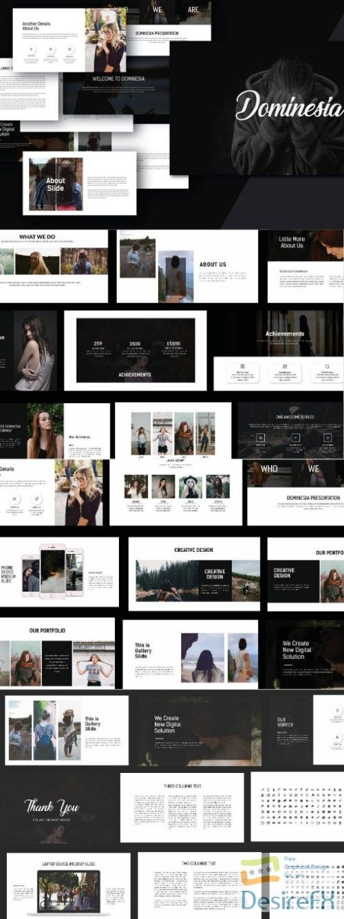 hipster powerpoint template graphics pinterest templates