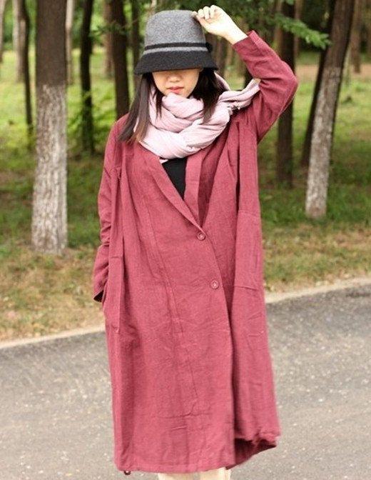 TP3 dark redblack loose blousetop blouseWind by Sunflowercloth, $169.00