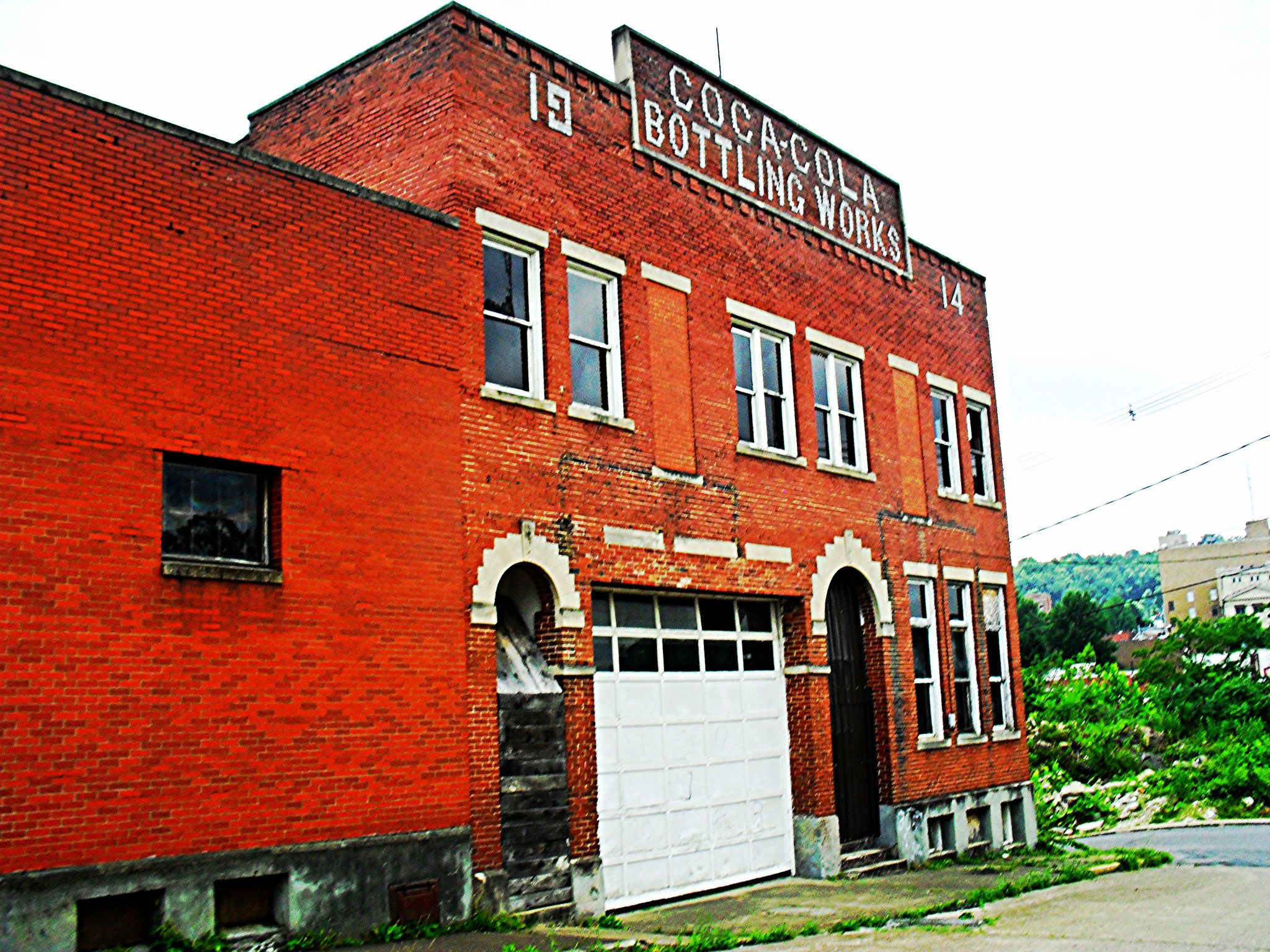 Coca-Cola Bottling Works,Glen Elk,Clarksburg WV in 2019