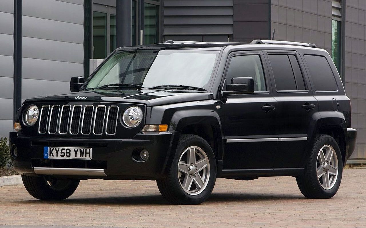 Black 2012 Jeep Patriot