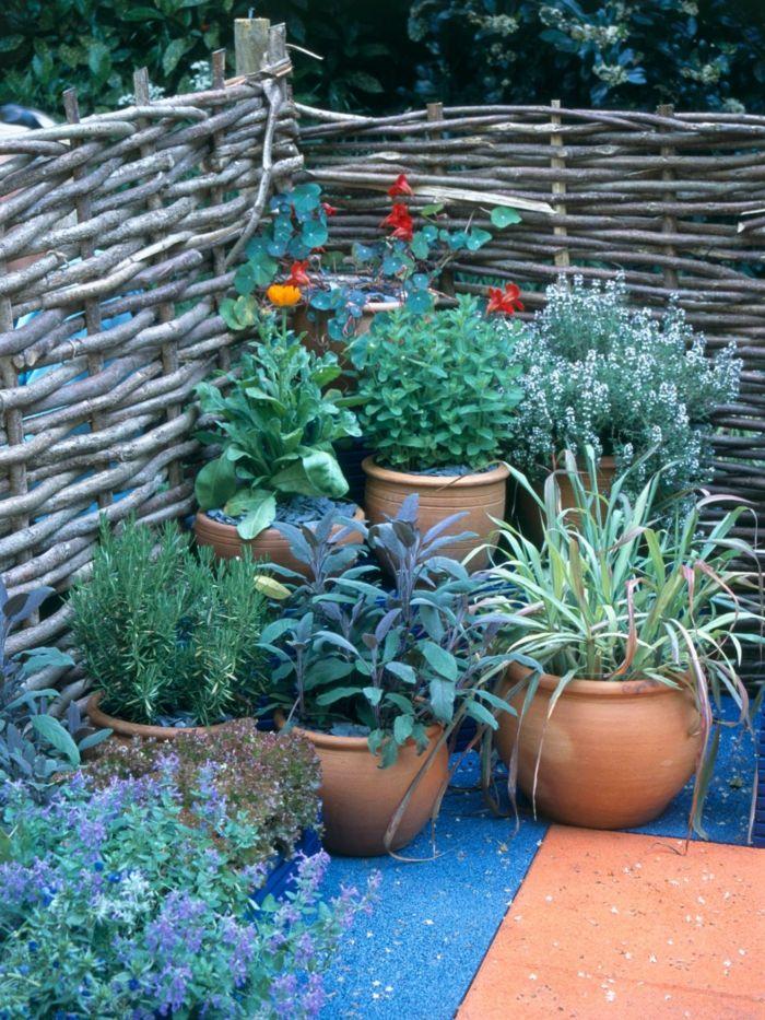 gartenzaun gartendeko basteln gartendeko ideen | gärten, Hause und Garten