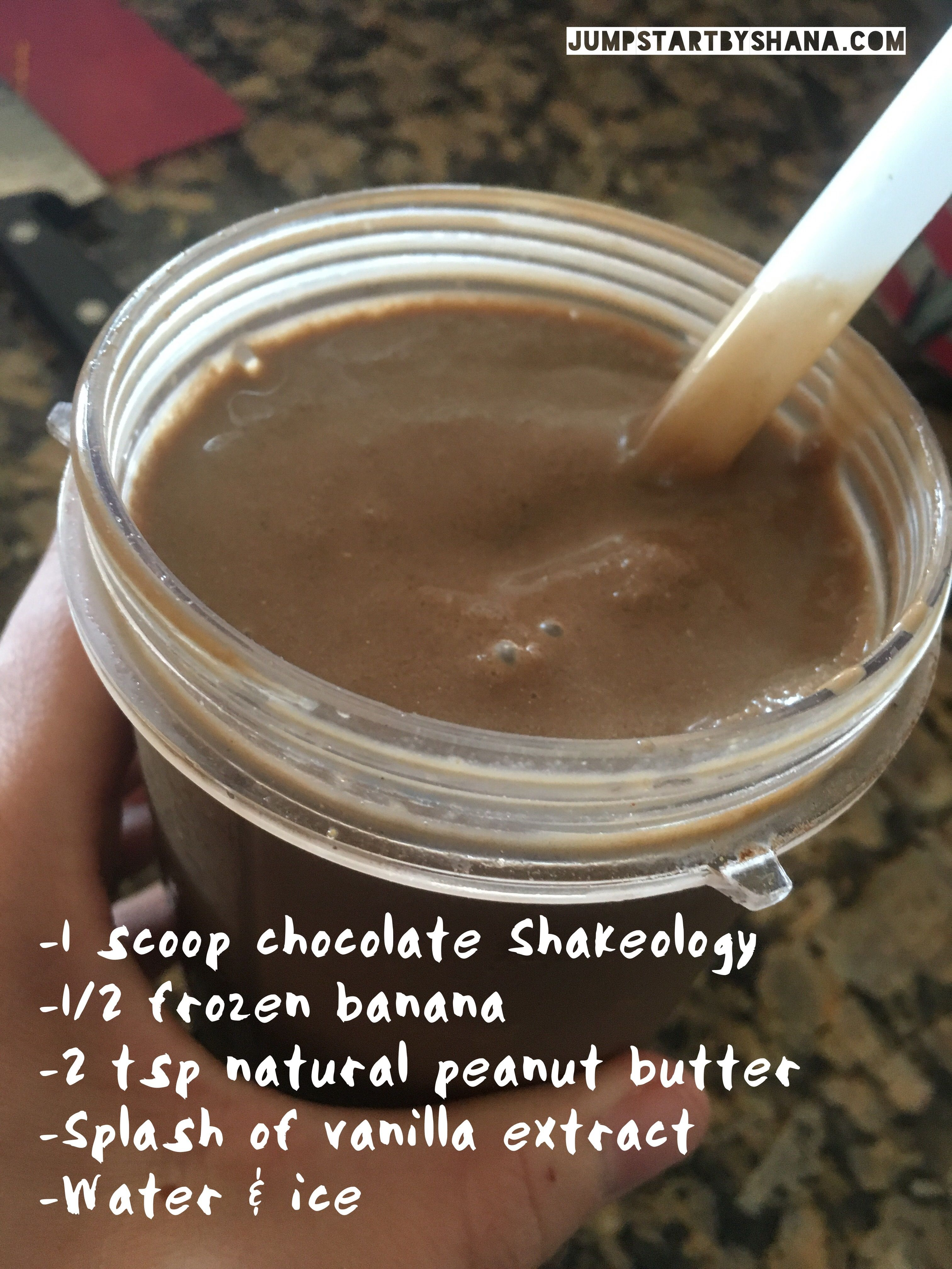Chocolate frosty recipe (using Shakeology) Why I drink a protein ...