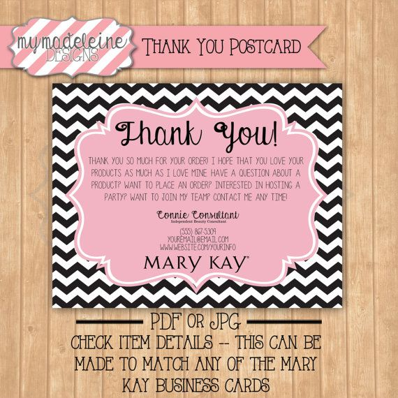 MARY KAY // Thank You // Direct Sales // Marketing // Business | A ...