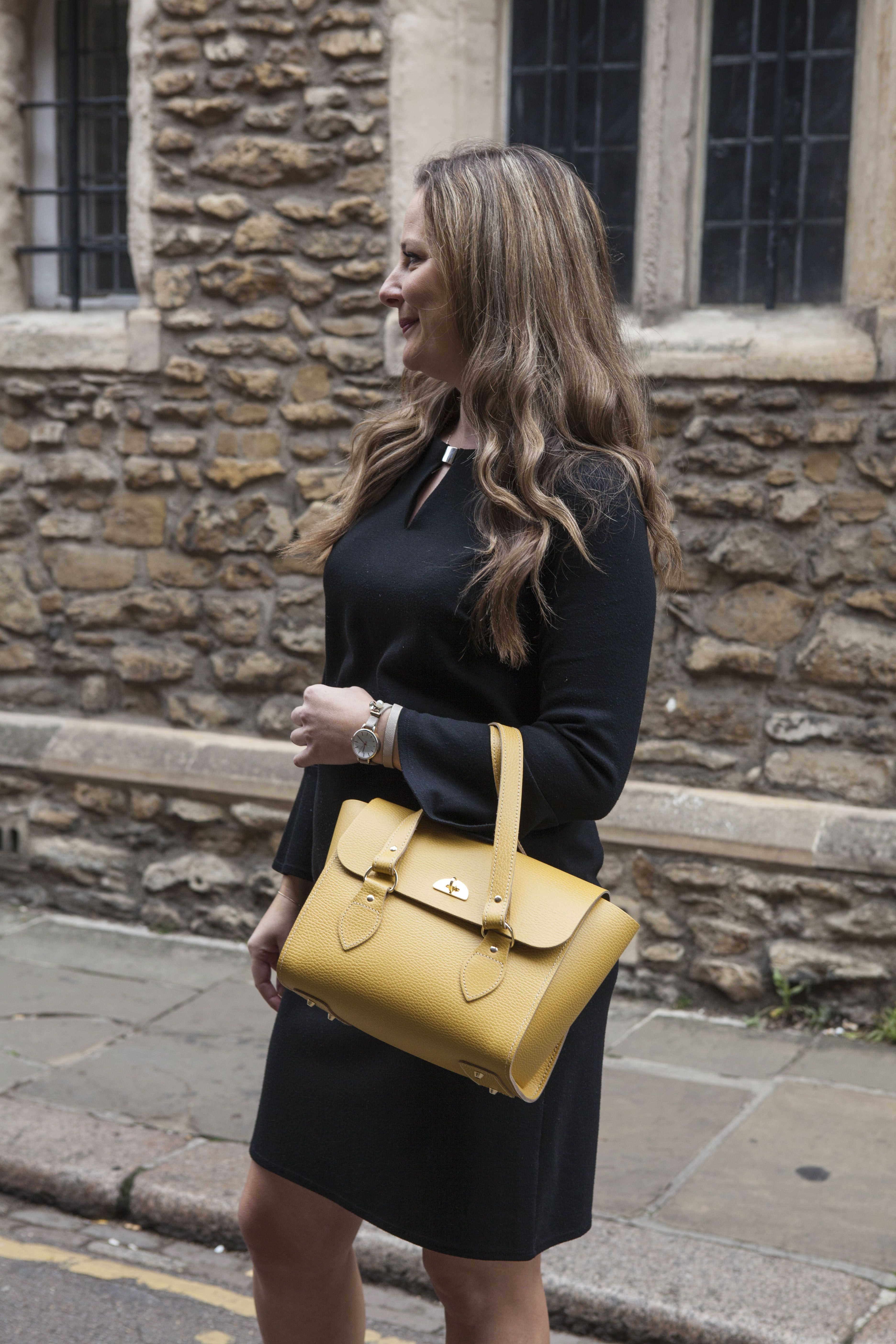40652adb4 The Emily is the perfect workwear handbag for the smart, sophisticated woman.  Handmade in the UK by The Cambridge Satchel Company.