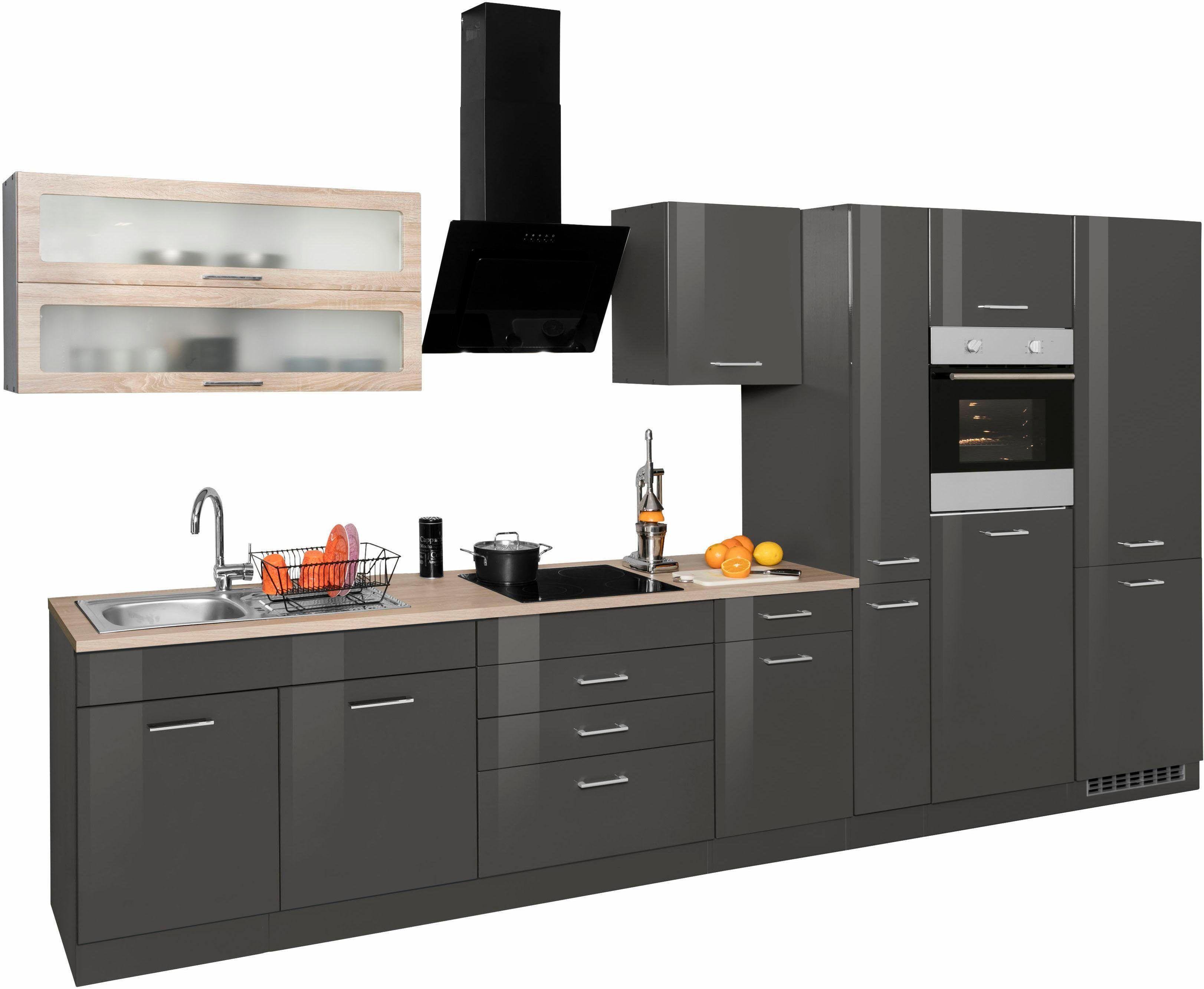 Küchenzeile bestellen  Küchenzeile ohne E-Geräte »Utah« grau, Held Möbel Jetzt bestellen ...