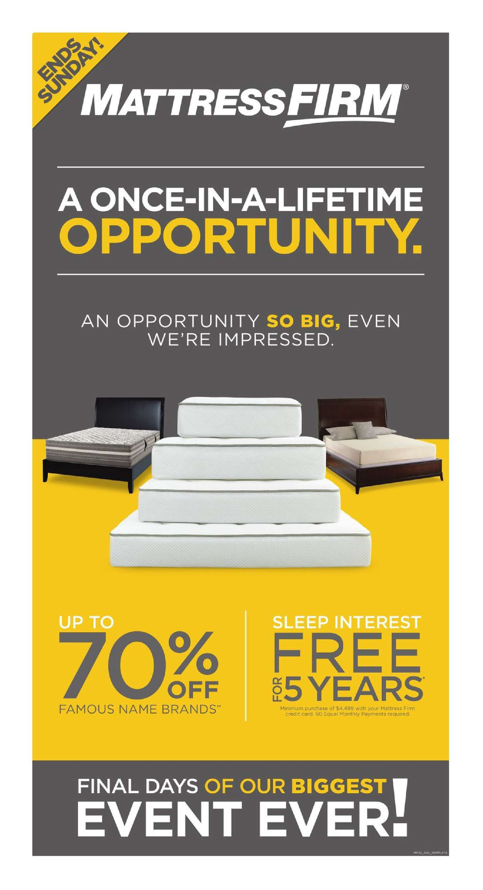 mattress firm weekly ad april 24 30 2017 http www olcatalog