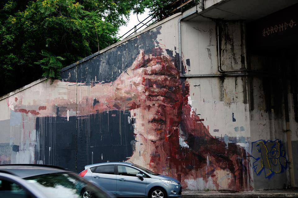 Endless Canvas - By the brilliant Borondo, Spain.