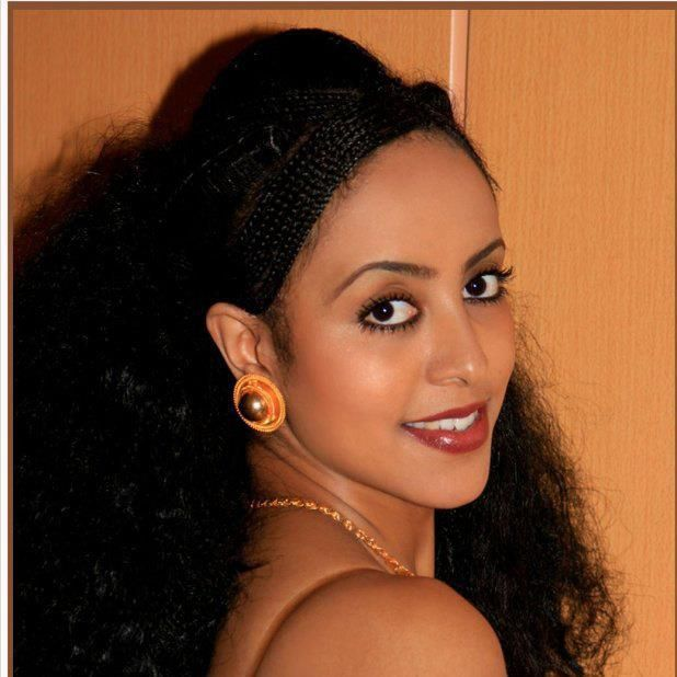 Eritrean Traditional Hair Braiding And Gold Jewelry I