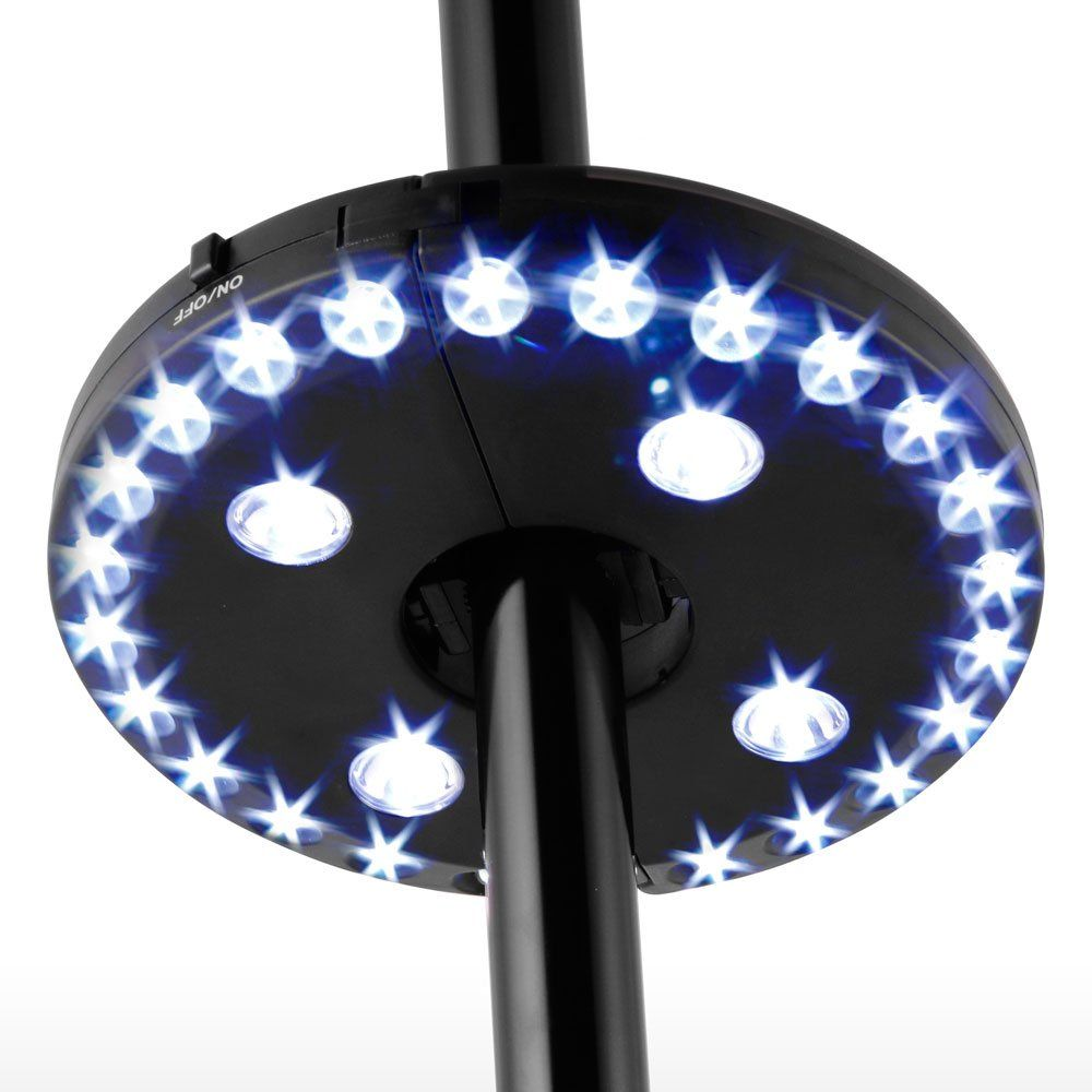 Patio Umbrella Light 28 Led Lights Cordless Garden Light Battery Powered Outdoor Balcony Umbrella Patio Umbrella Lights Umbrella Lights Outdoor Patio Umbrellas