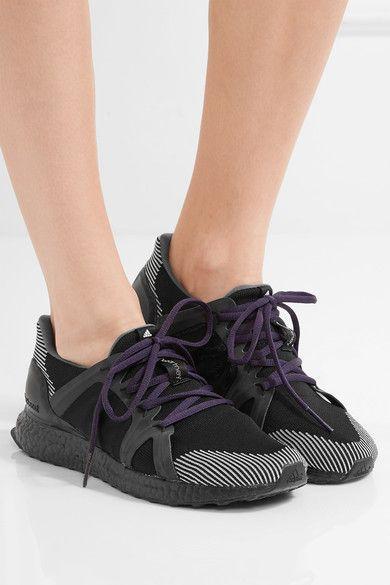 917fb165d3d Adidas by Stella McCartney - Ultra Boost Stretch-knit Sneakers - Black - UK
