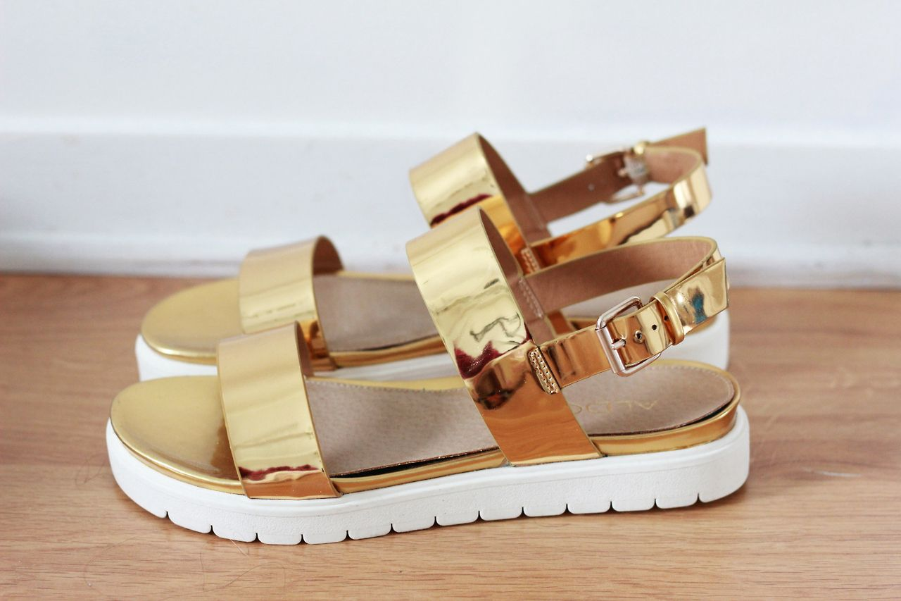 1c33728abc7 shiny gold sandals mandals aldo shoes