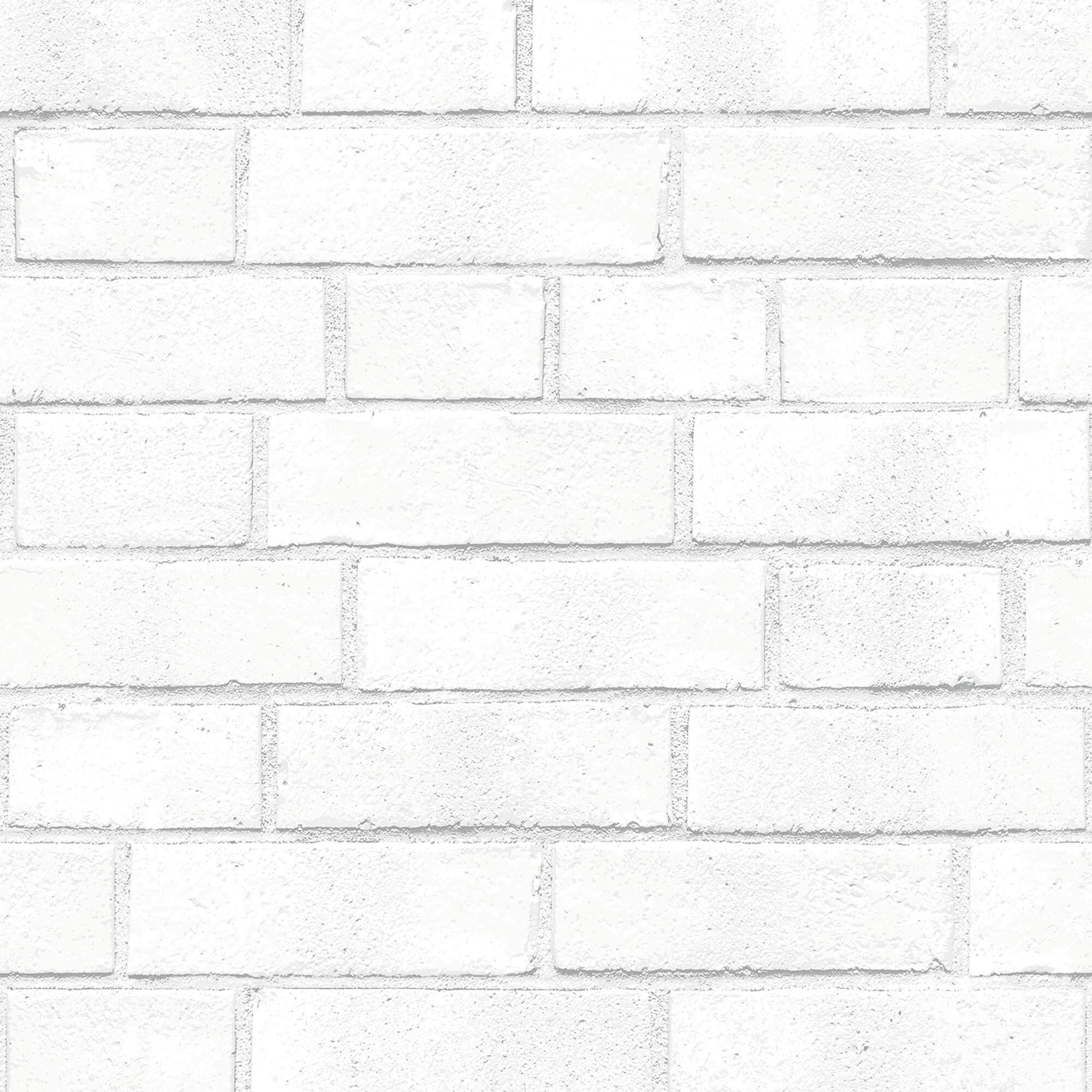 Whitewash Brick Peel And Stick Wallpaper By World Market White Textured Wallpaper Brick Wallpaper Brick Texture