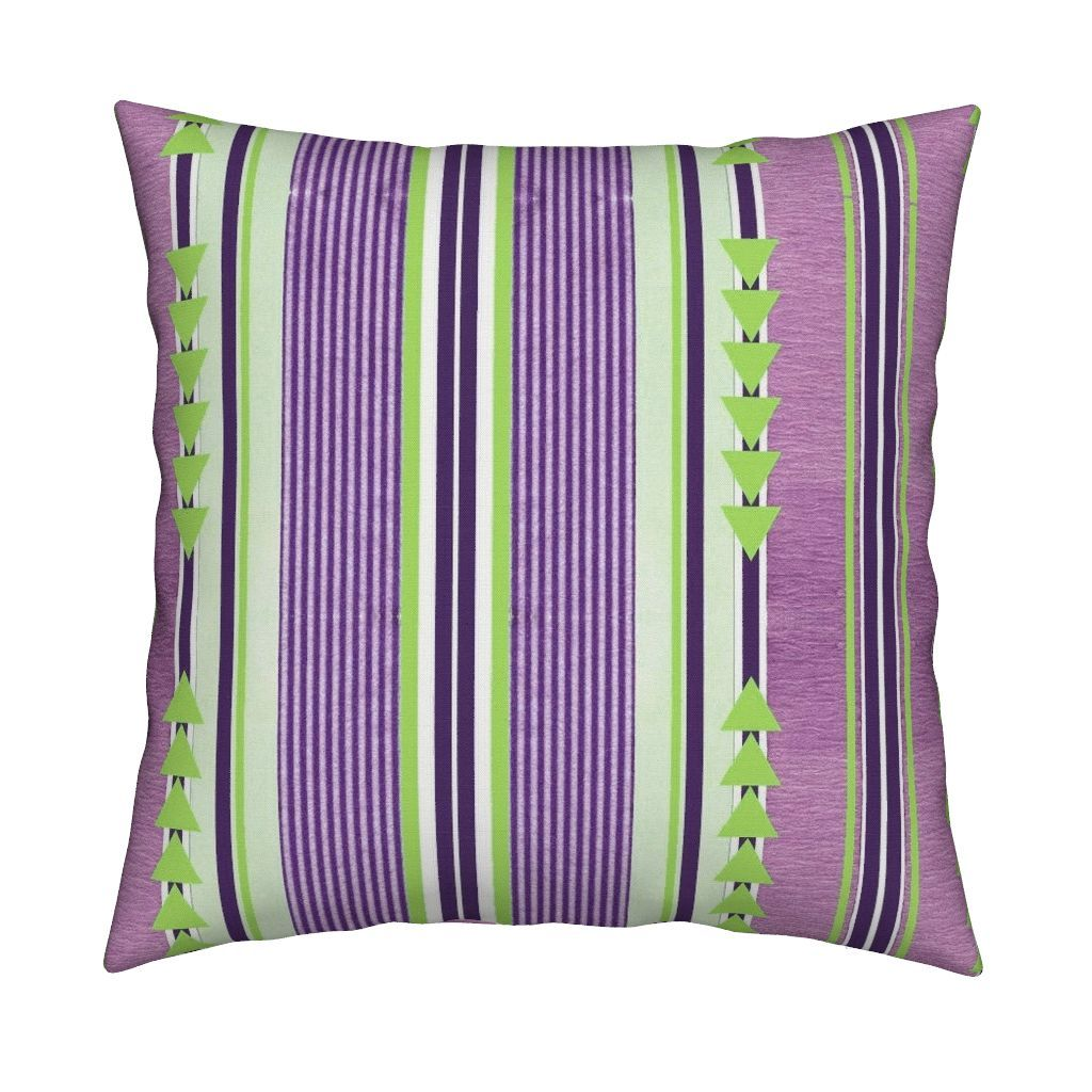Catalan Throw Pillow featuring Mint and Grape delux by floramoon_designs | Roostery Home Decor