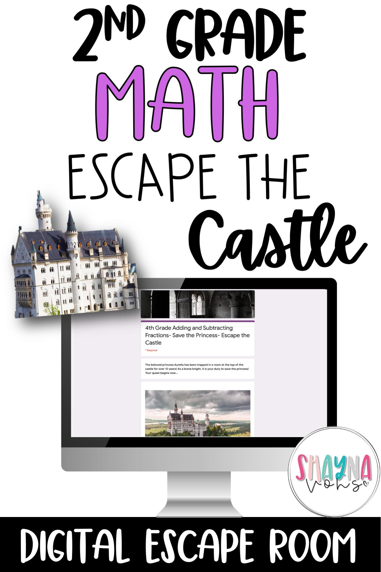 Digital Escape Room Math
