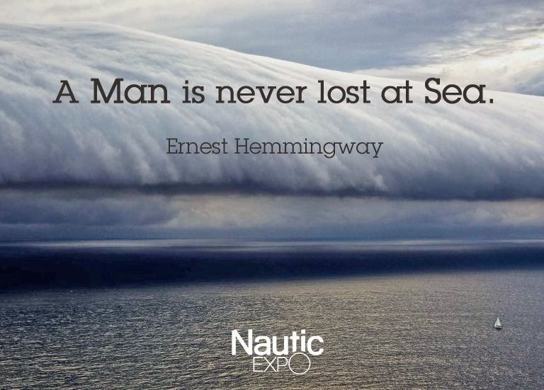Sailing Quotes Hemingway Quotesgram: Ernest Hemmingway Quote
