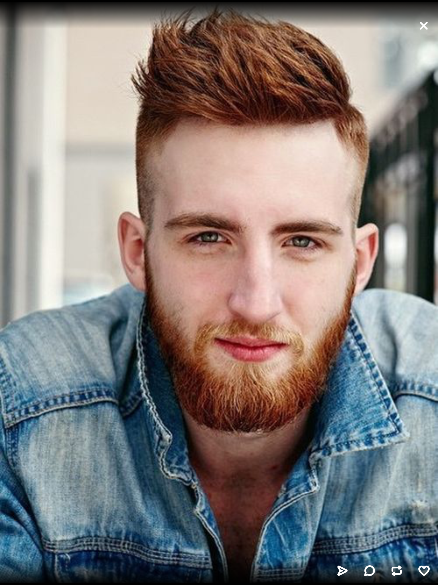 Ginger Thriller Love A Beard Side Hairstyles Shaved