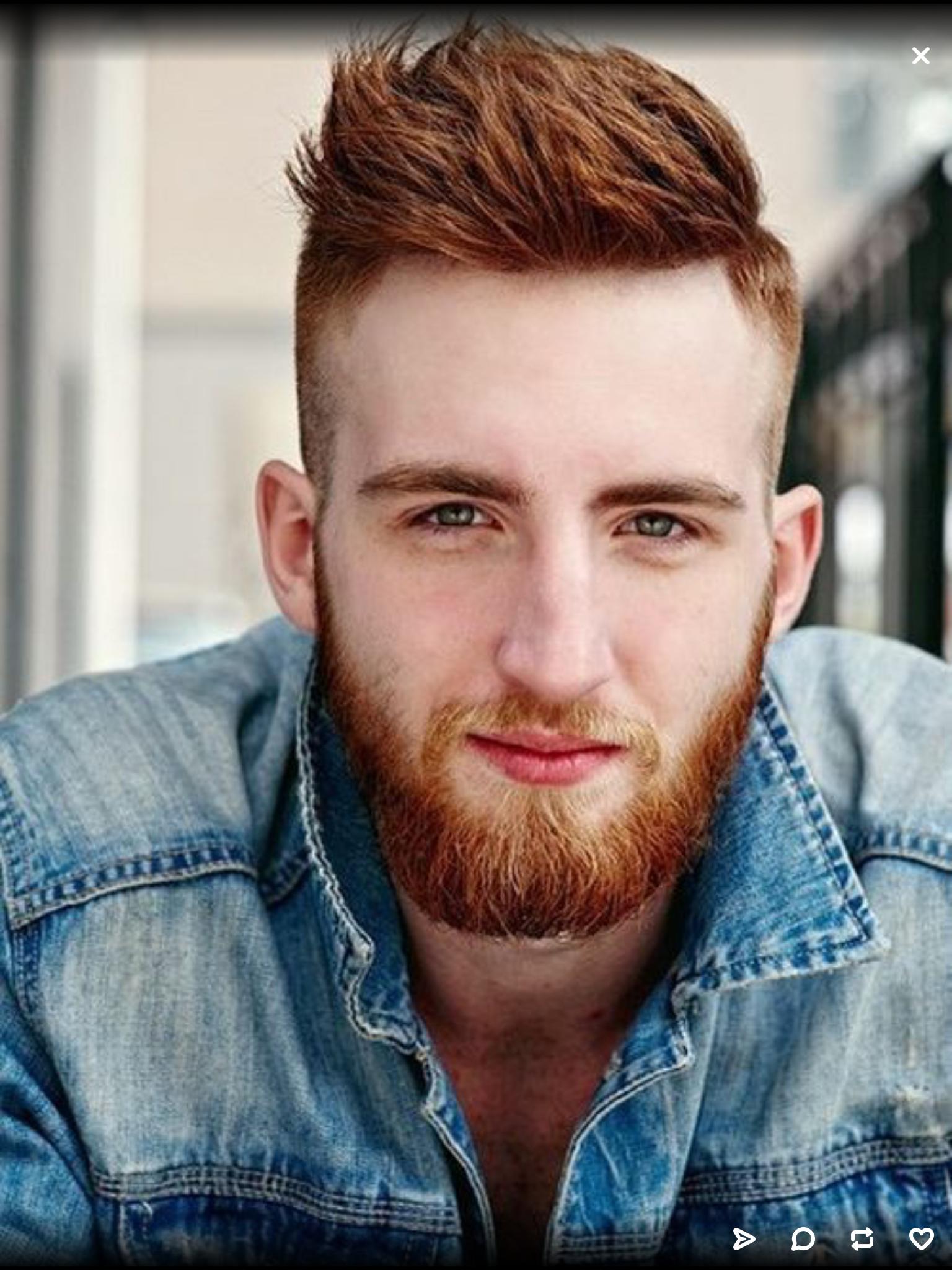 Haircuts men long ginger thriller  love a beard  pinterest  hair styles shaved