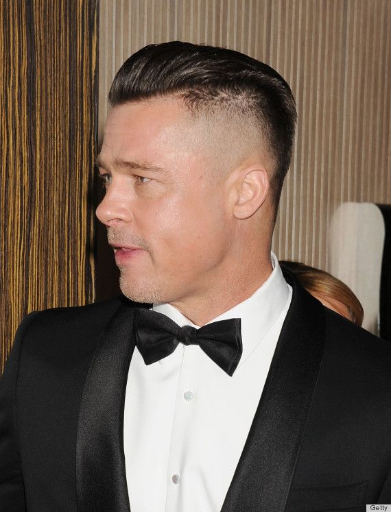 Brad Pitt New Hair Recipes Pinterest Frisur Und Bart Bärte