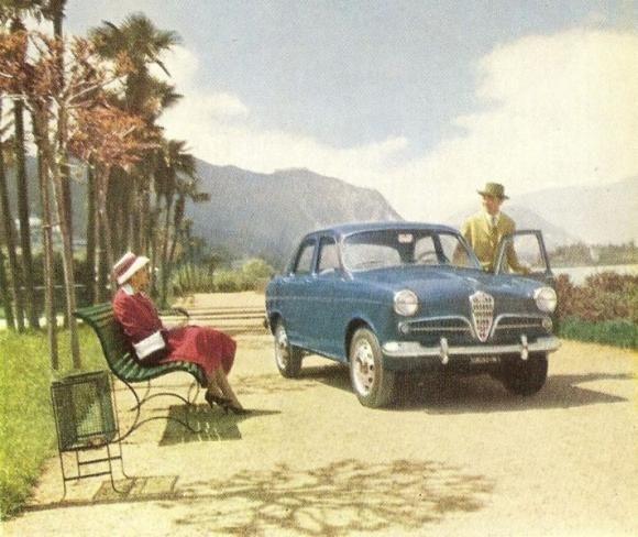 Alfa Romeo Giulietta Berlina 1955 Alfa Romeo Pinterest Cars