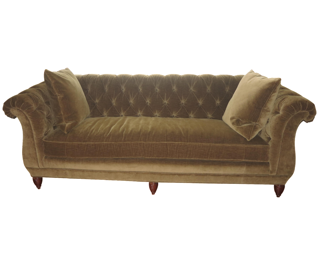Theodore Alexander Tufted Sofa On Chairish 2 500