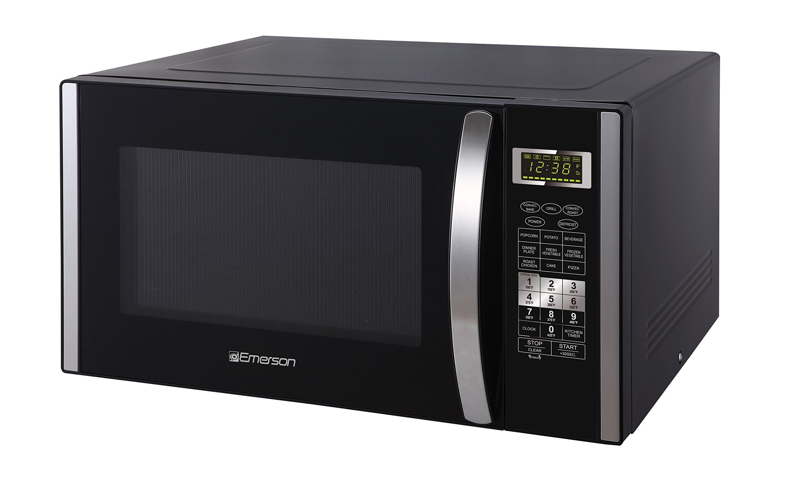 Emerson 1 5 Cu Ft 1000w Convection Microwave Oven With Grill