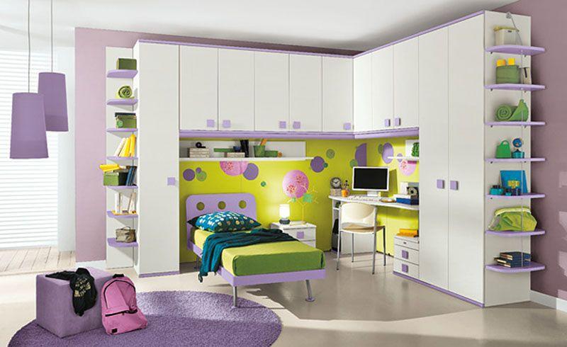 Child Bedroom Storage Kids Beautiful With White Furniture