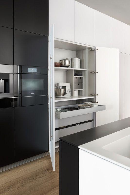 nische f r thermomix kitchen k che k chen ideen und neue k che. Black Bedroom Furniture Sets. Home Design Ideas