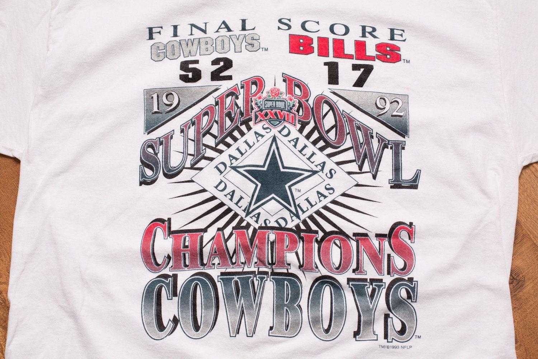 Vintage 90s Atlanta Super Bowl XXVIII Crewneck Sweatshirt Buffalo Bills Dallas Cowboys XL