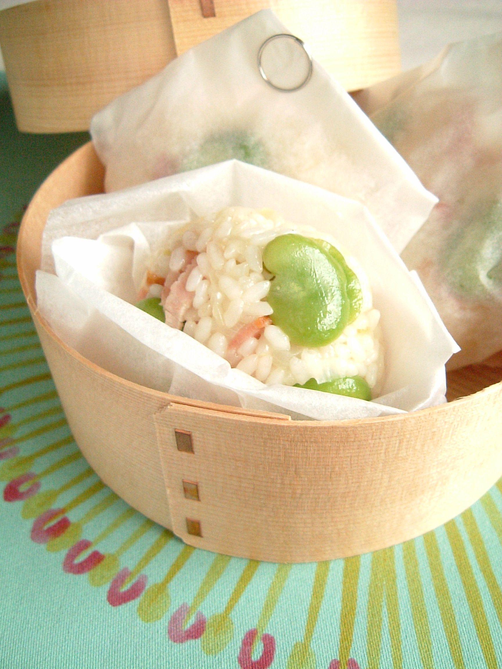 そら豆とベーコンの洋風ちまき レシピ 介護食 料理