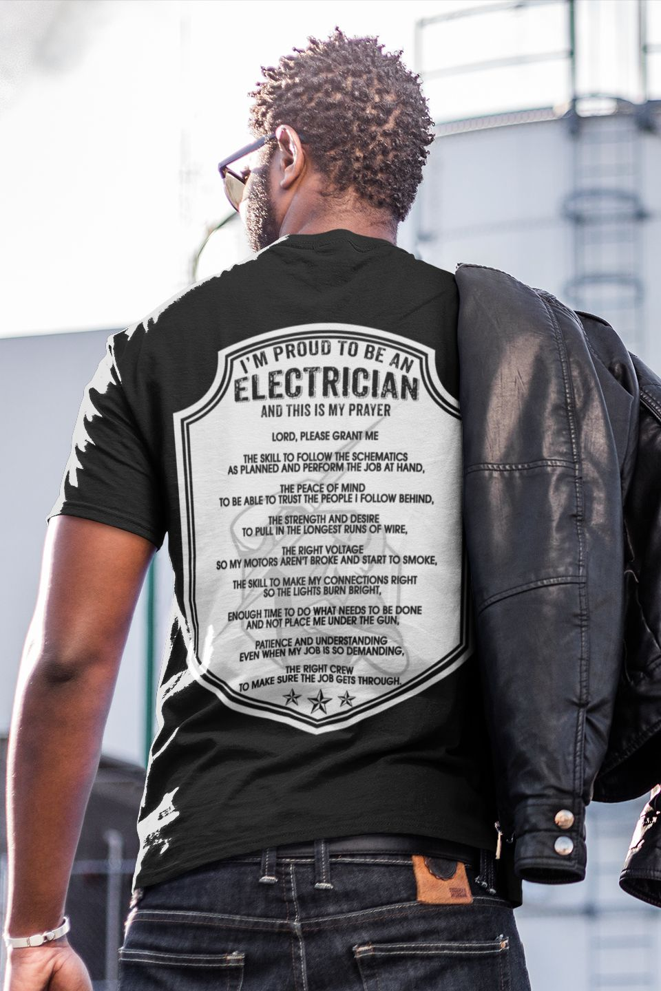 Colored wires t-shirt it Engineer all over printed tee bright style