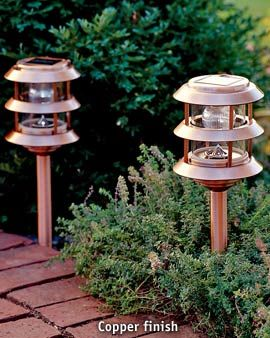 Copper Solar Landscape Lights Solar Lighting The Brightest Longest Lasting Solar Garden Lanterns Solar Garden Solar Landscape Lighting