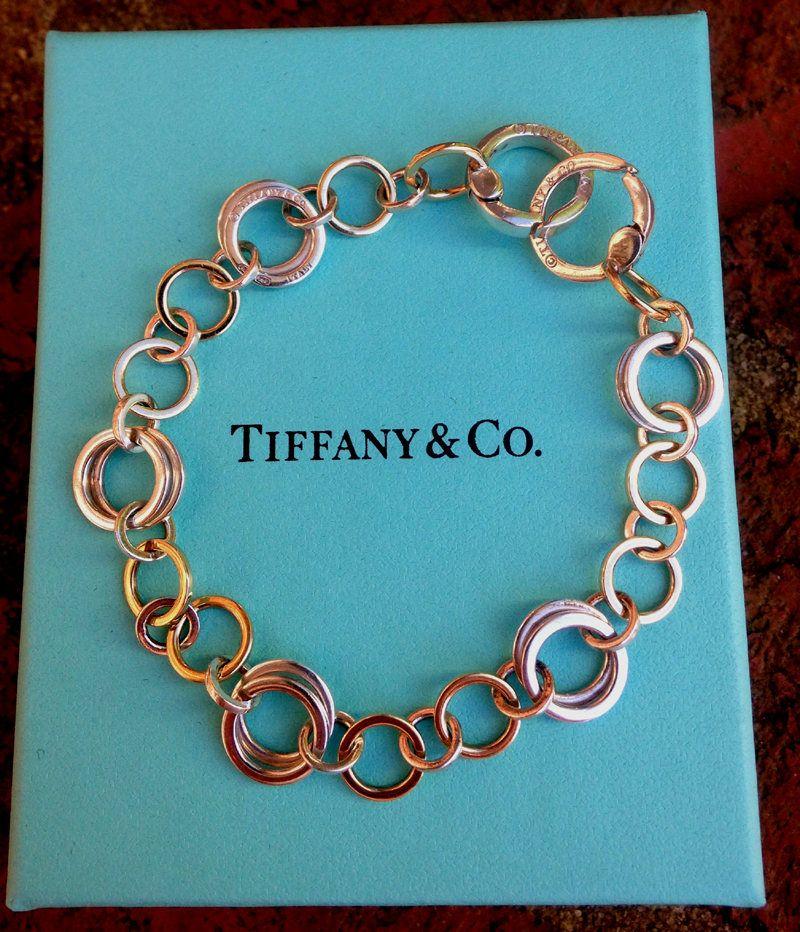 4ed26e340 Tiffany & Co. Interlocking Circle Bracelet, 8