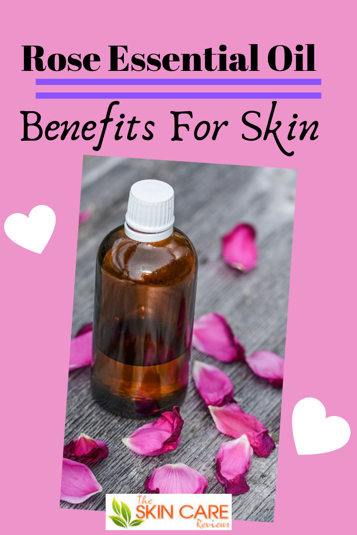 Find the best rose essential oil for skin, how to choose the best rose oil for face and its benefits for your skin care. #roseessentialoilforskin